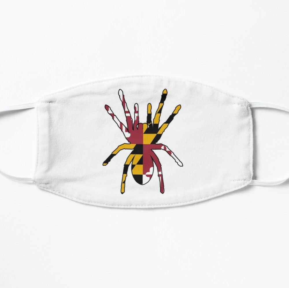 Maryland Spider Mask By Wickedcartoons In 2020 Mask Face Mask Cotton Tote Bags