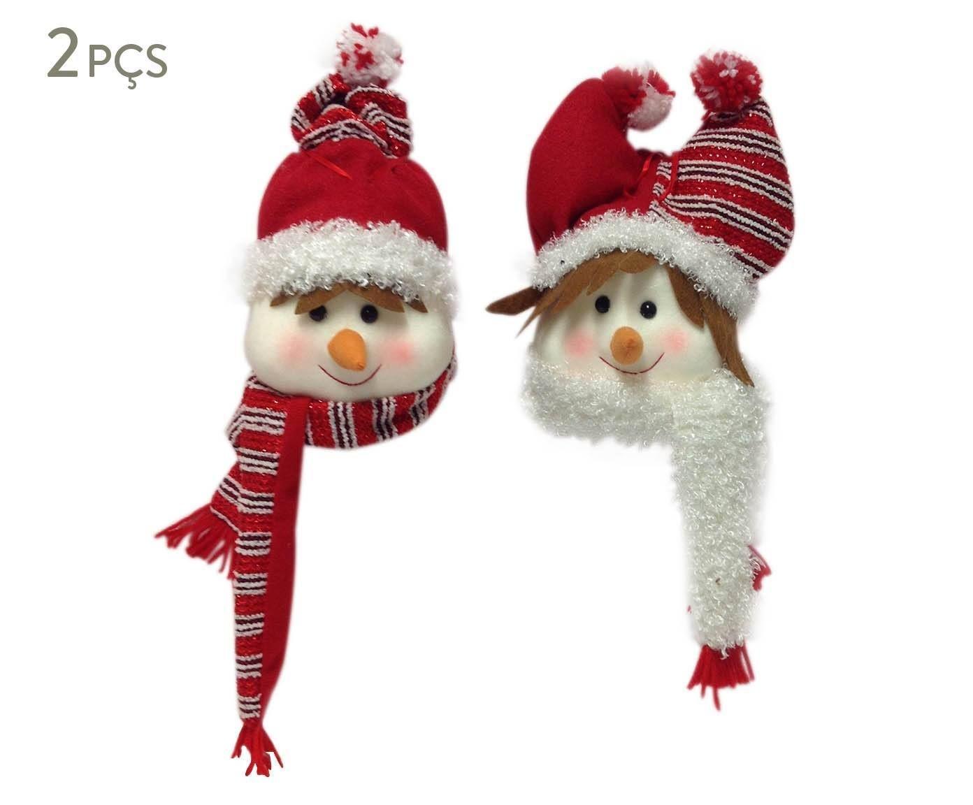 Conjunto de adornos natalinos snow friends | Westwing - Casa & Decoração