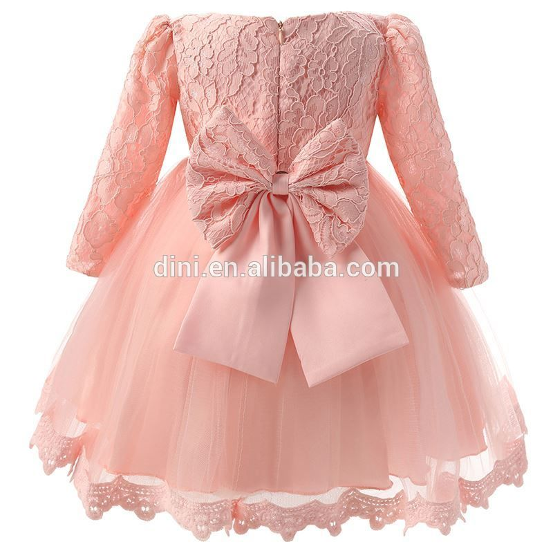 Winter Newborn Dress For Baby Girl Christening Gown 1st Birthday