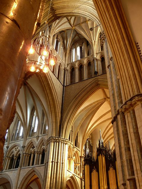 The Crossing, Lincoln Cathedral by Colin'sPic's, via Flickr