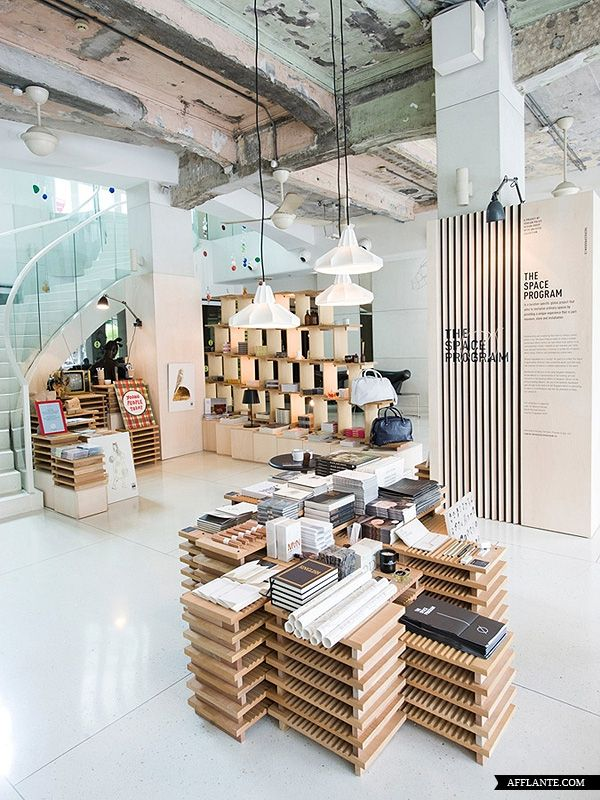A pop up concept in singapore is part installation part museum and part retail shop the philosophy of the concept is based on the intersection of design