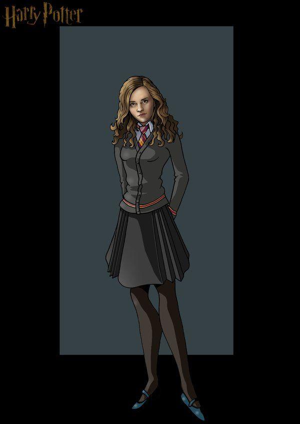 Hermione Granger Drawing By Nightwing1975 Deviantart  -7876