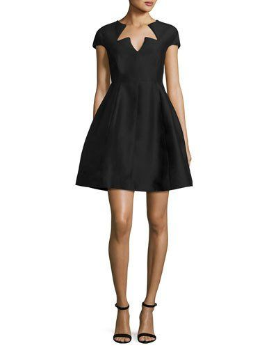 47++ Halston heritage black dress ideas