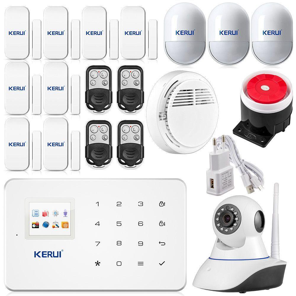 Android Ios App Wireless Gsm Home Alarm System Sim Smart Home Burglar Security Wifi Ip Wireless Security Camera System Wireless Home Security Home Alarm System