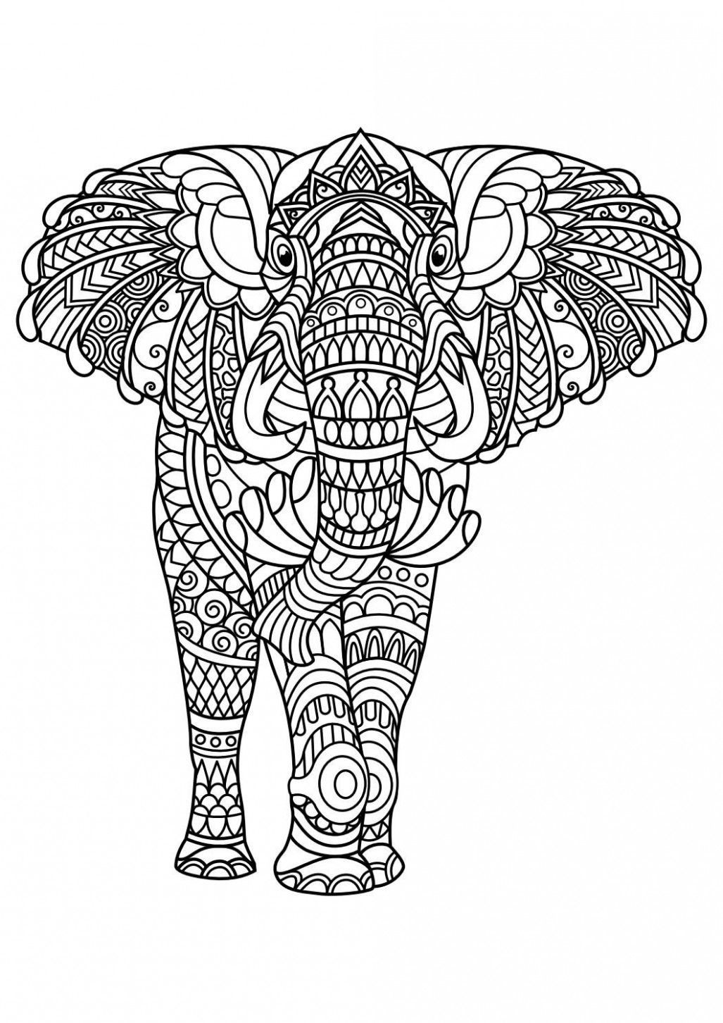 10 Great Animal Coloring Pages For Adults Pdf Ideas That You Can