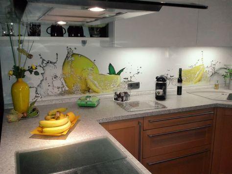 Küchenrückwand konyha /kitchen Pinterest - fliesenspiegel glas küche