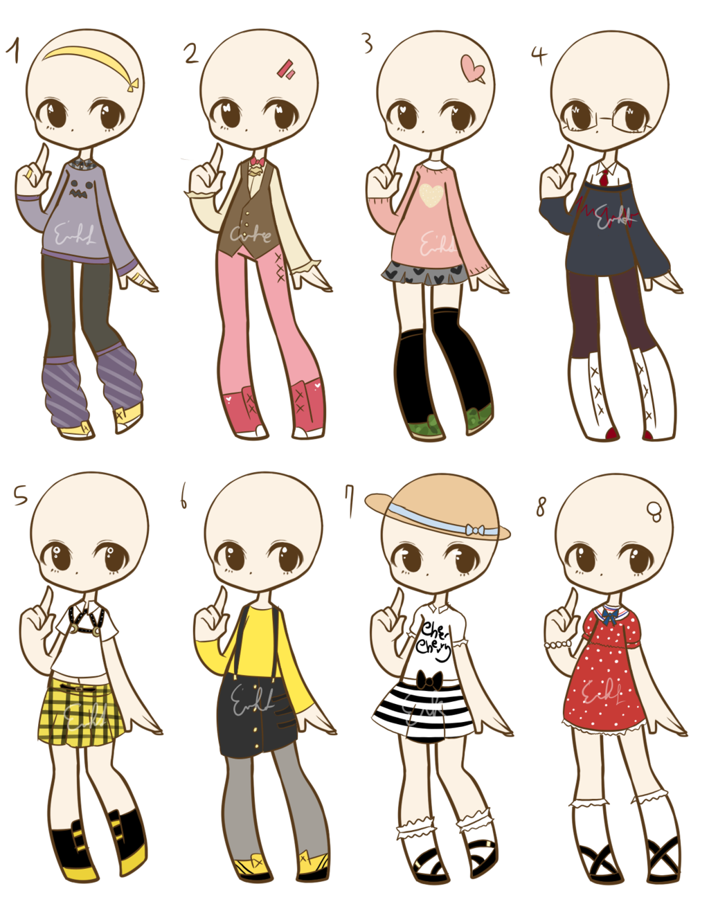 Outfit Adopts 3 CLOSED by