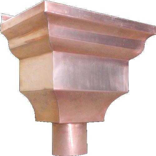 The Federal Conductor Head Leader Head Copper Aluminum Rain Head Aluminum Conductors