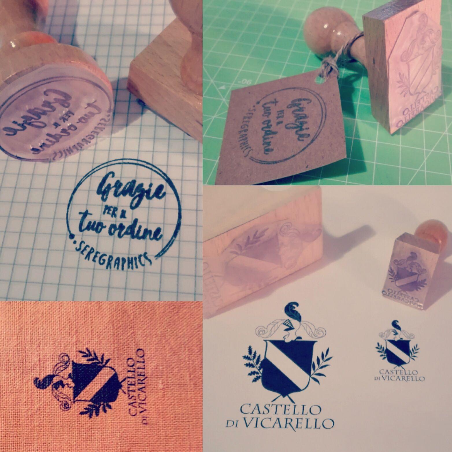 Timbri Personalizzati Per Stoffa timbri di varie dimensioni e forme per marcare qualsiasi