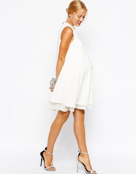 Resultado de imagen para vestidos para boda civil para embarazadas ...