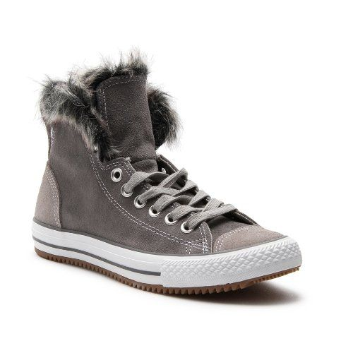 71cce05d46a8 Converse Women s Chuck Taylor All Star Climber Fur Lining Hi-Top Plimsolls   Amazon.co.uk  Shoes   Bags