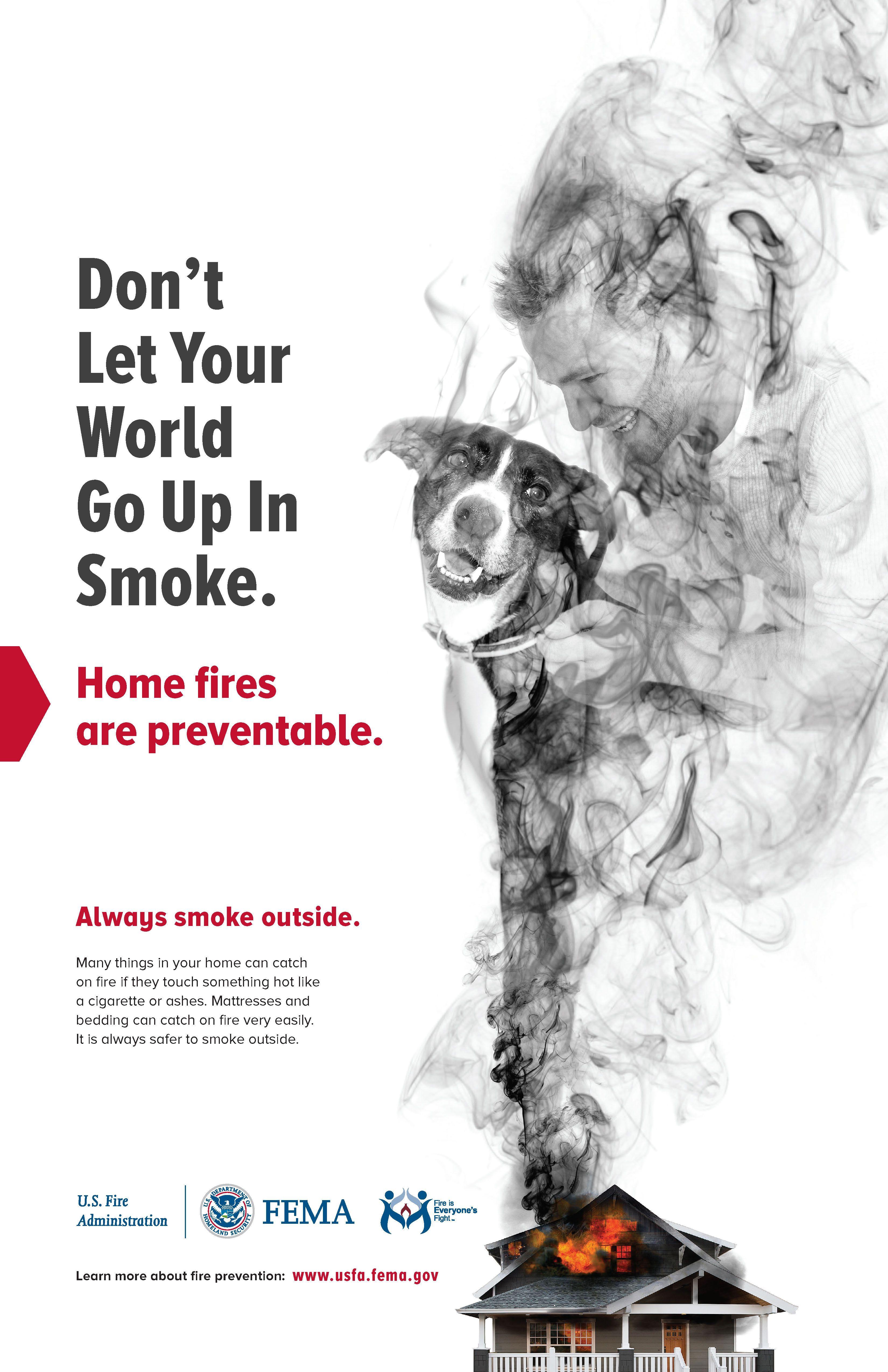 fema up in smoke poster [ 3300 x 5100 Pixel ]