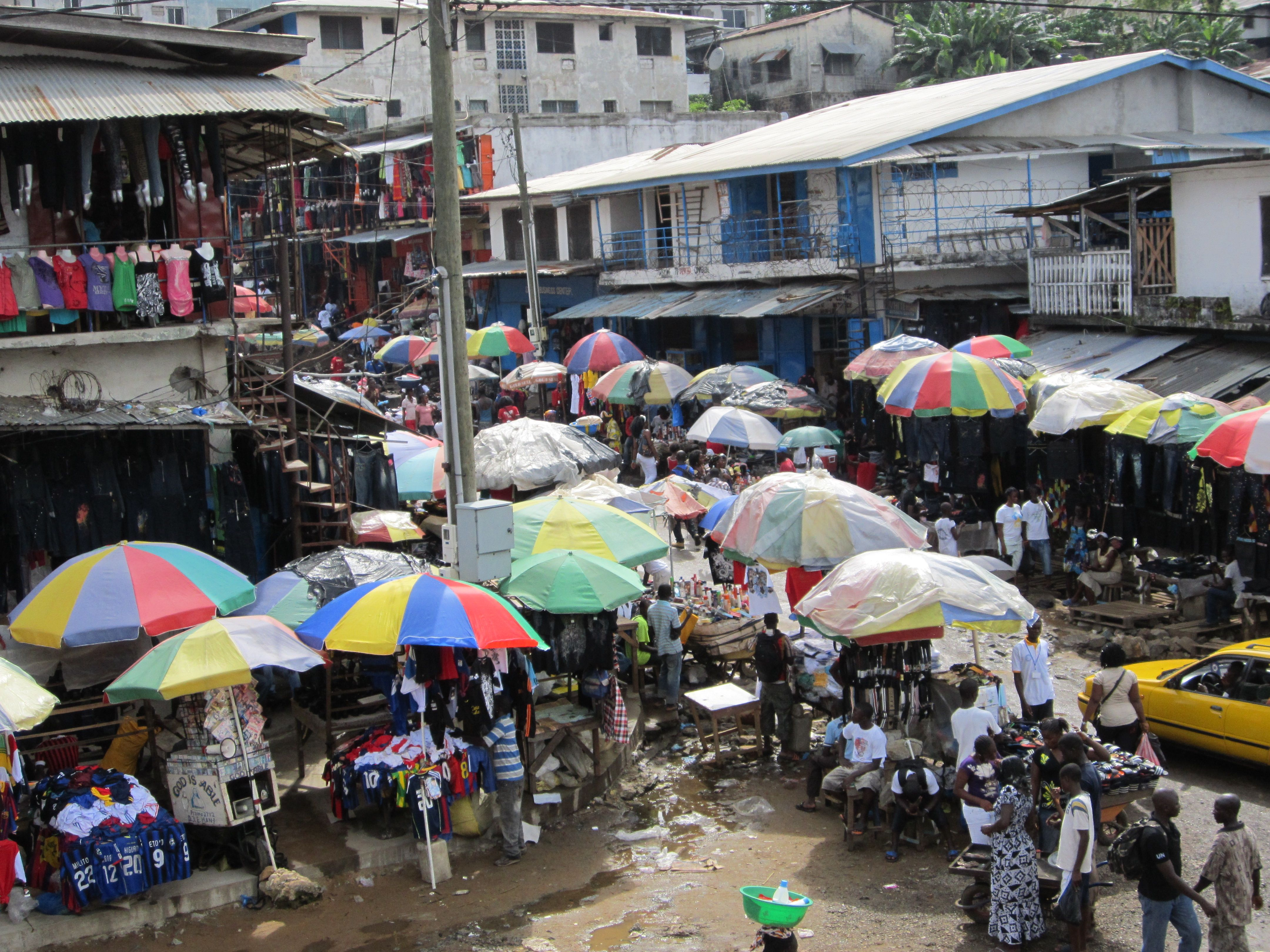 Image result for waterside market liberia (With images