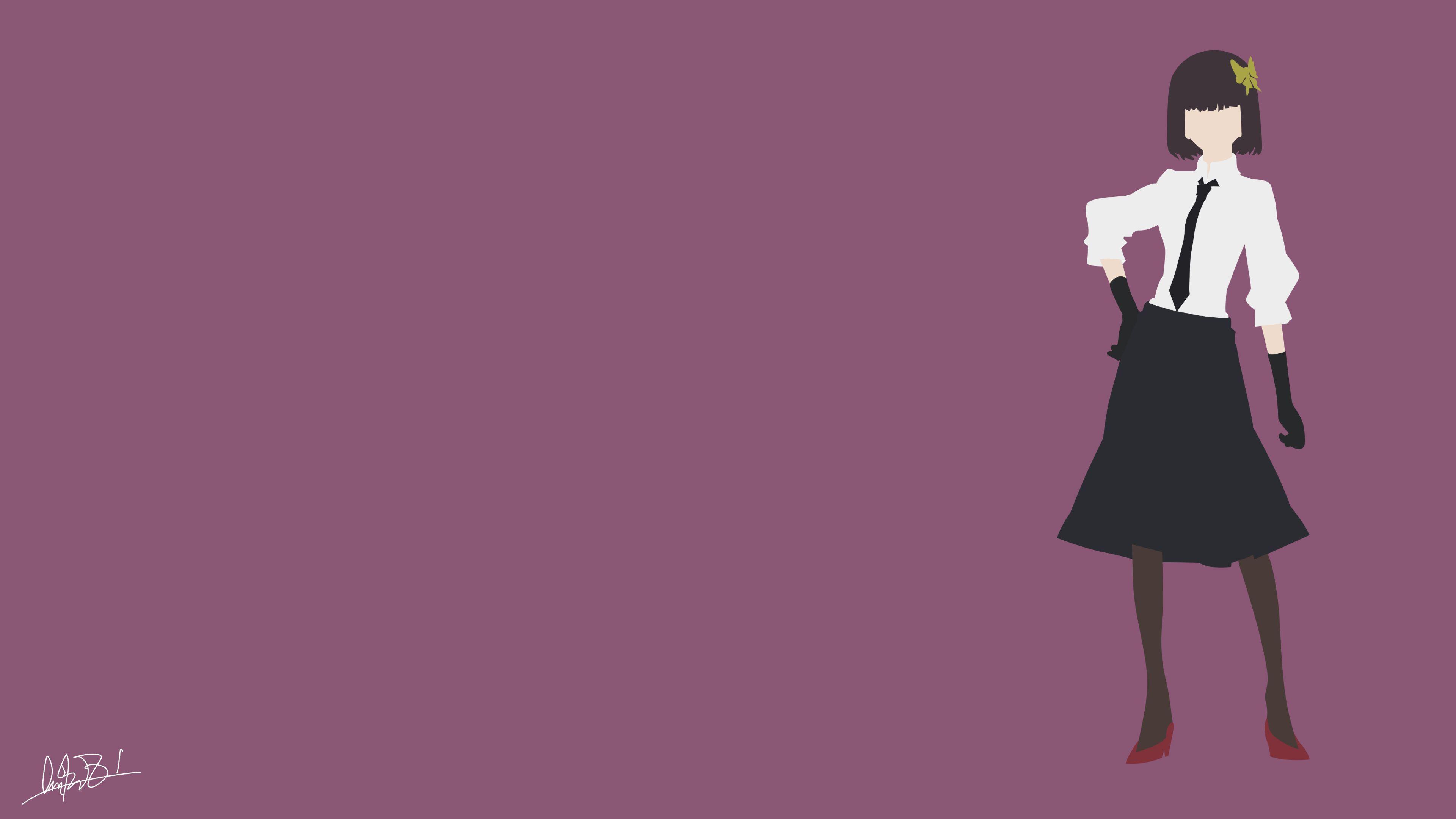 Akiko Yosano (Bungou Stray Dog) Minimalist by NurAlifSidoel on DeviantArt