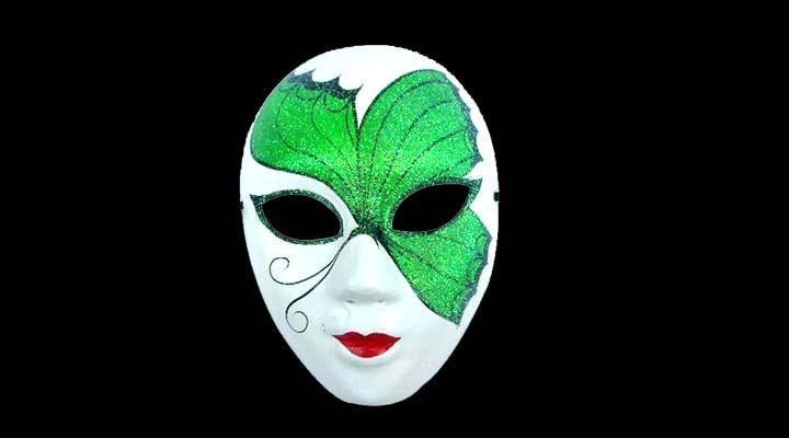 How To Decorate A Mask Classy 10Pcslotfreeshippinghighqualitypaperpulpfullfacehandmade Design Ideas