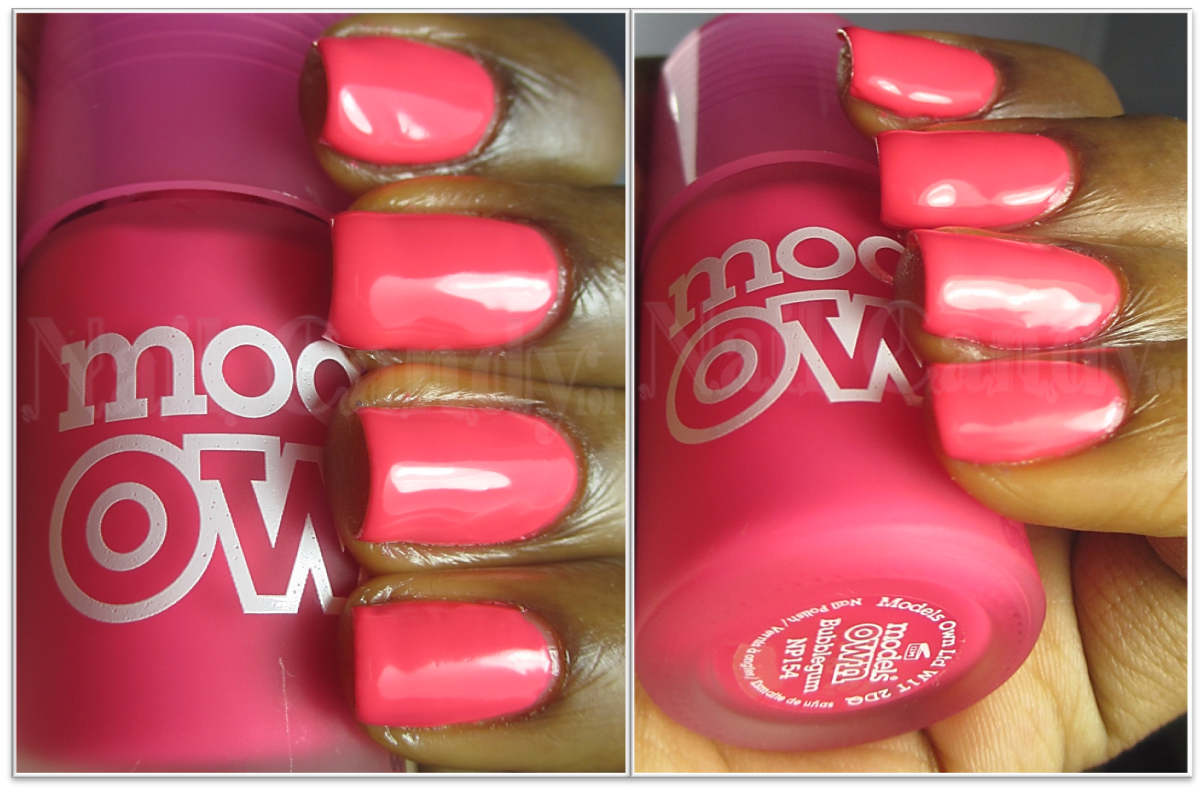 Models Own Ice Neon nail polish in Bubblegum | Hair, Face and Nails ...