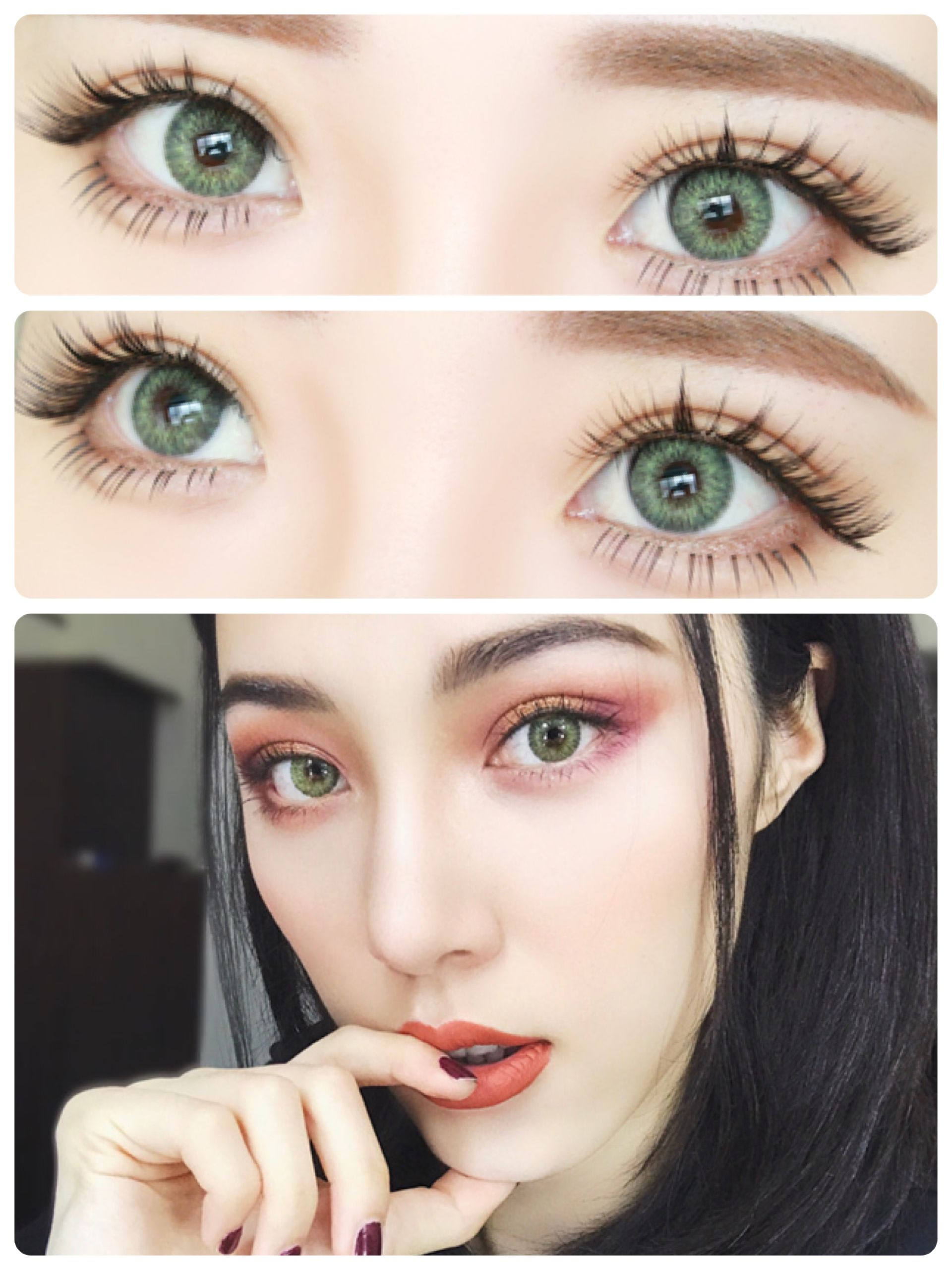 Freshlook Colored Contact Lenses From Eyecandys These Lenses Are Great For Dark Or Black Eyes Shop Green Colored Contacts Colored Contacts Eye Contact Lenses