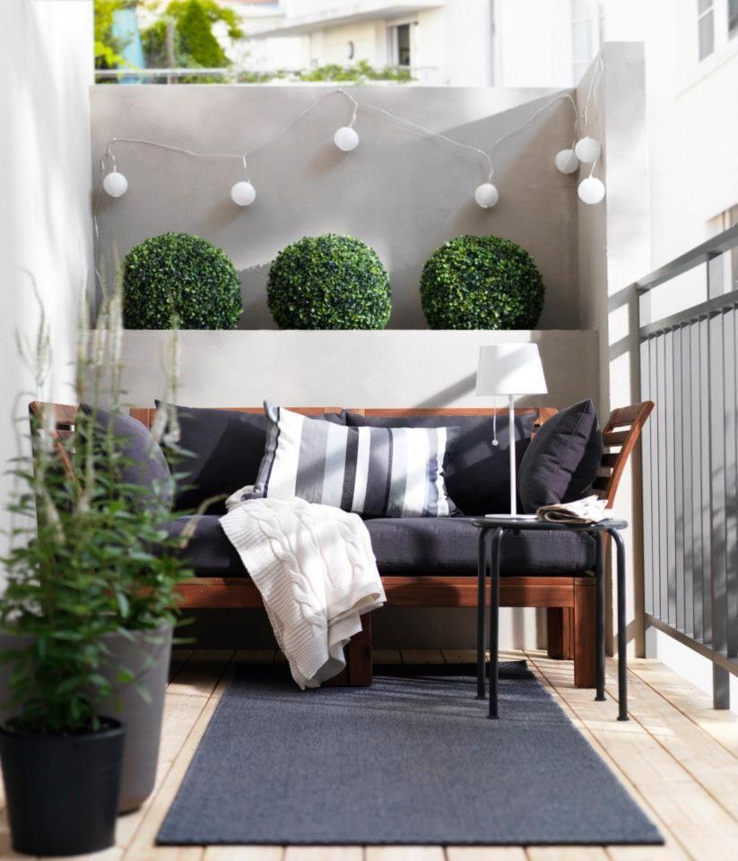 balkon ideen interessante einrichtungsideen kleiner balkons balkon balkon balkon ideen. Black Bedroom Furniture Sets. Home Design Ideas