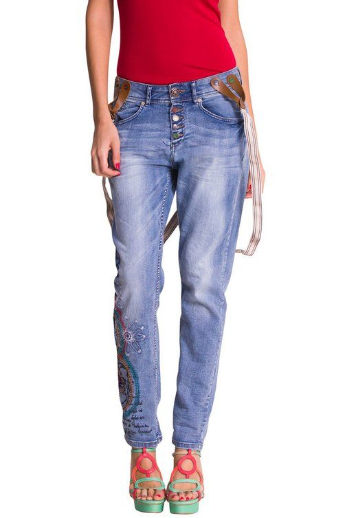 Clearance Latest Womens Edith Jeans Desigual Factory Price Sale 2018 Newest Inexpensive Online o6M0teS