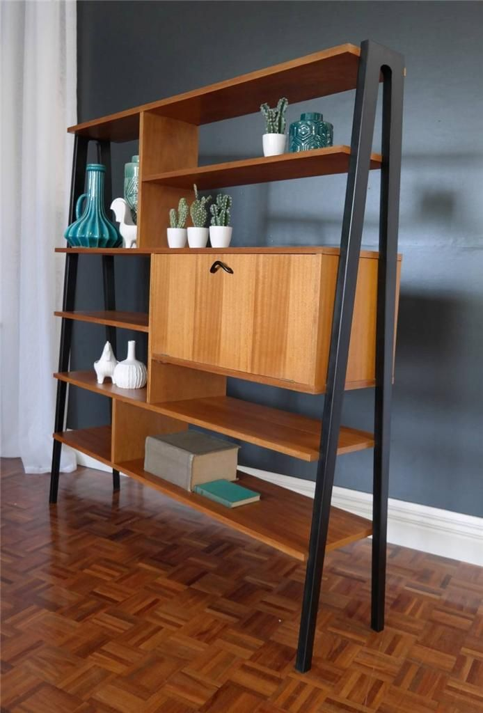 Vintage Qld Maple Room Divider Sideboard Buffet Retro