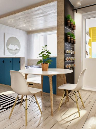 Inspiration déco petit appartement Comedores