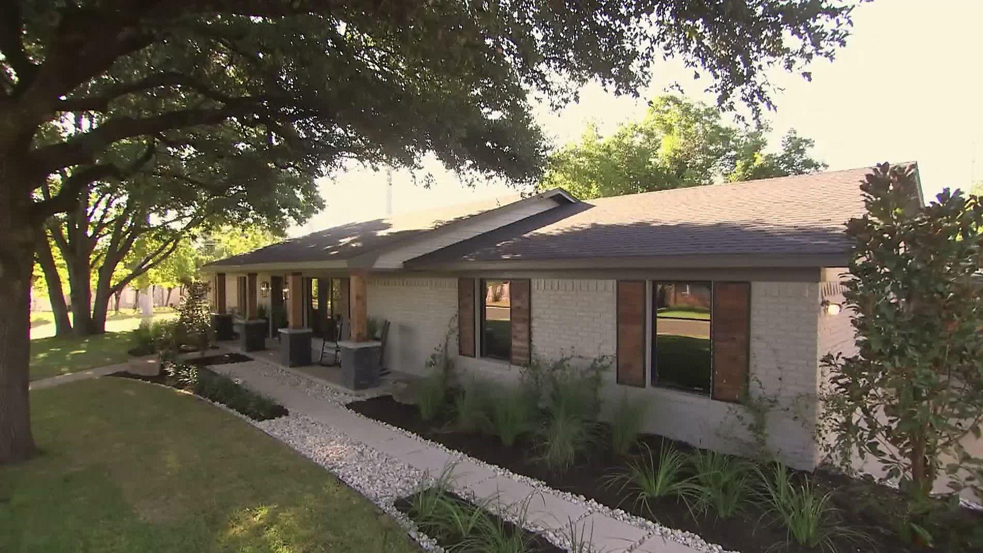 HGTV Fixer Upper Ranch House Exterior Remodel