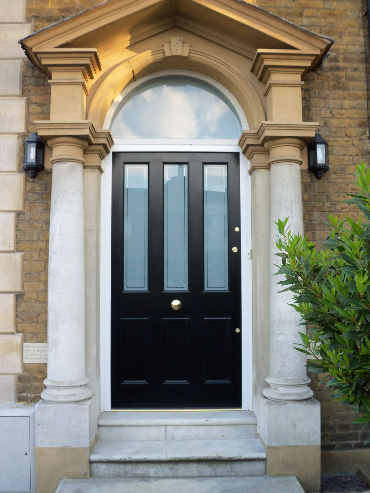 black entry double door styles - Google Search | Maison Londres ...
