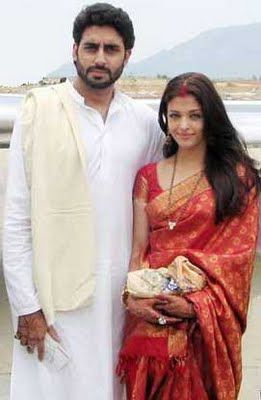 Aishwarya Red Jari Pattu Bollywood Fashion Indian Celebrities Fashion