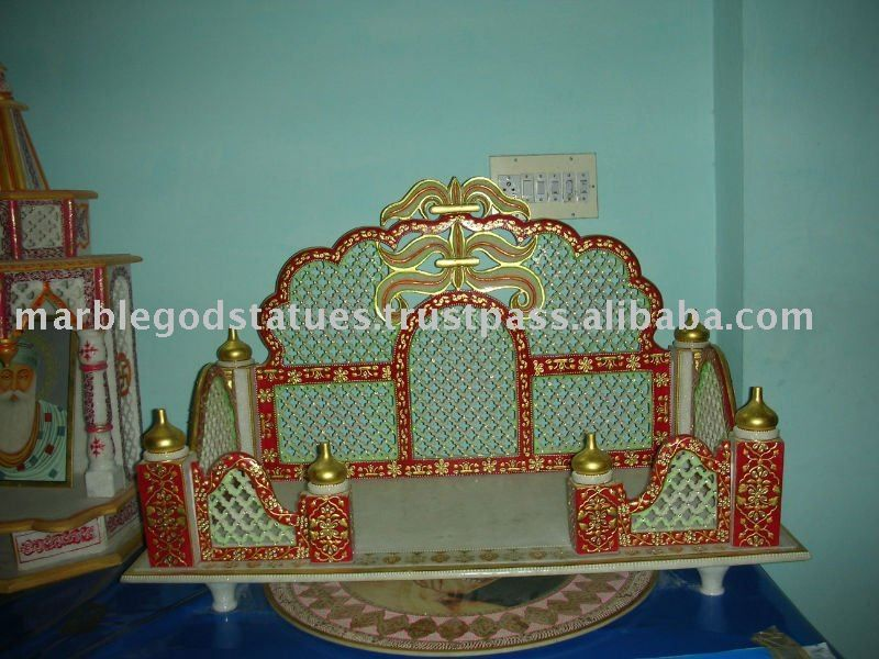 marble temple designs for home   VrindaBan   Pinterest   Marbles ...