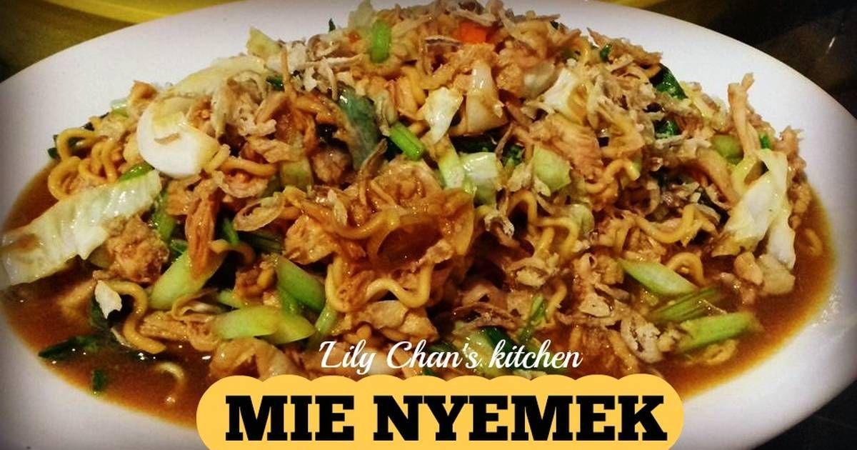 Resep Mie Nyemek Ala Lc Oleh Lily Chan S Kitchen Resep Makanan Resep Masakan Resep