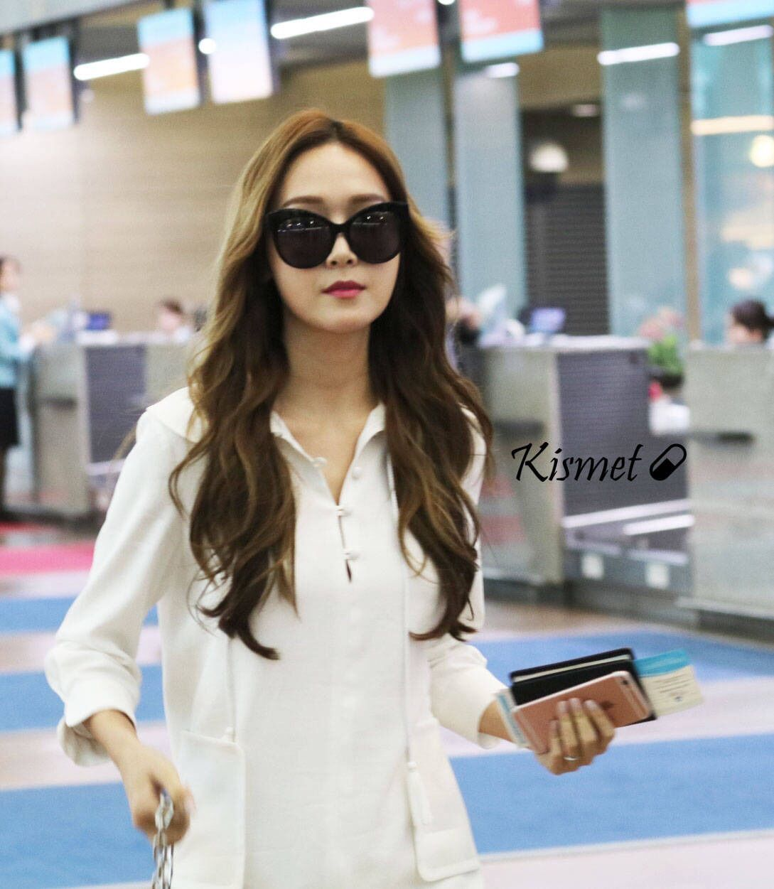 Snsd Jessica Jung Airport Fashion Style Snsd Airport