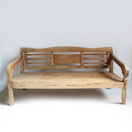 Miraculous Vintage Indonesian Teak Bench Beautiful Indoors Or In An Spiritservingveterans Wood Chair Design Ideas Spiritservingveteransorg