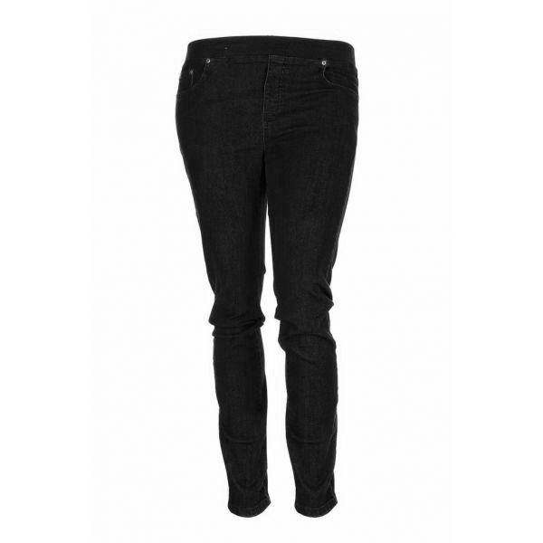 Super cool Sorte jeans med elastik i taljen Studio Modetøj til Damer i lækker kvalitet