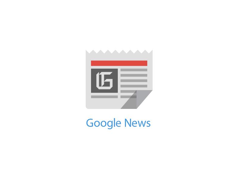 Google News - Free PSD