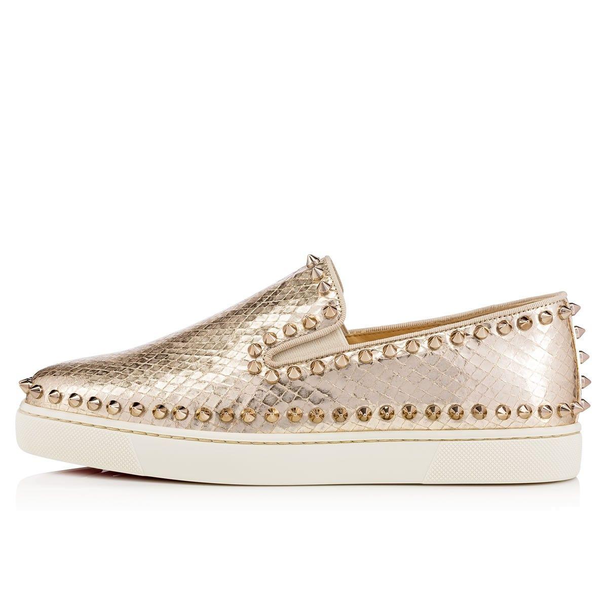 3d3252e82ce Shoes - Pik Boat Women's Flat - Christian Louboutin | SNEAK A PEAK ...