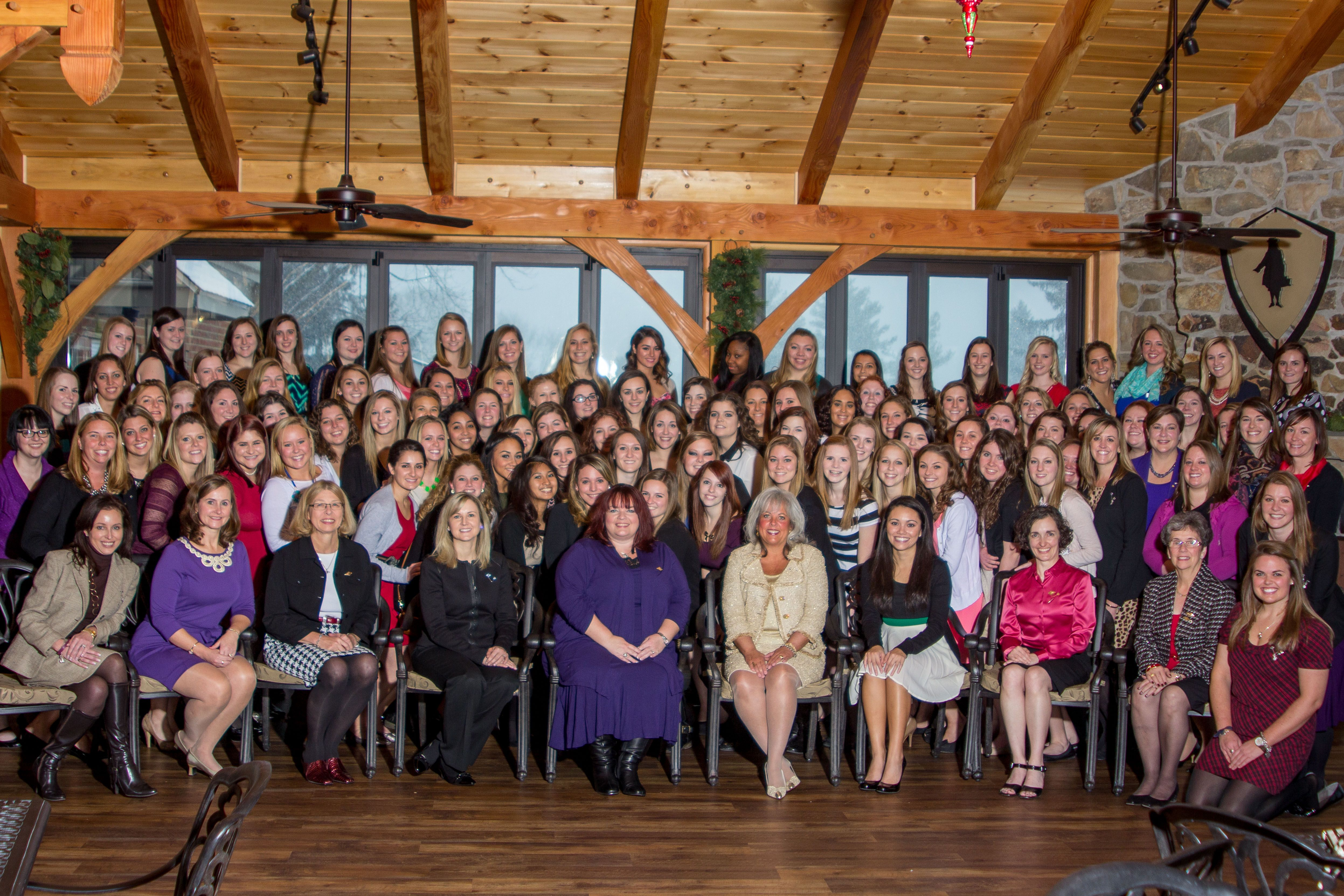 wcu chapter of alpha delta pi hosts linkedin and job