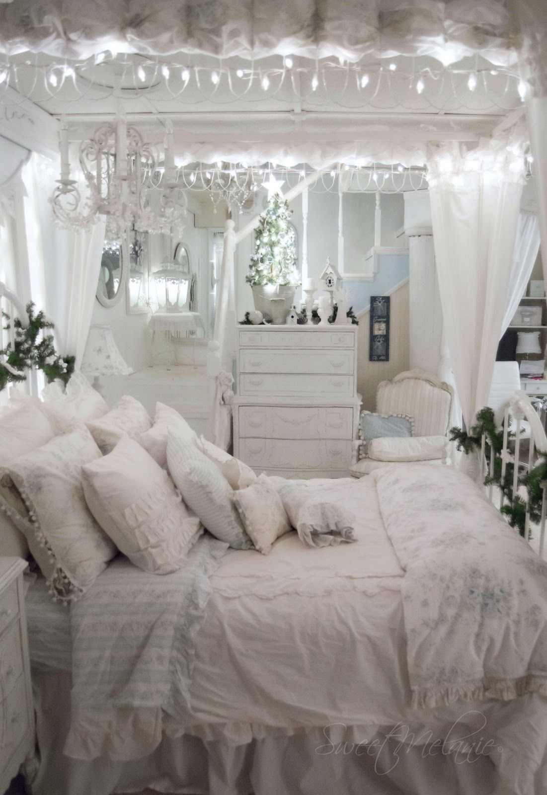 Shabby and Charme: Natale a casa di Melanie | Decorating ideas ...
