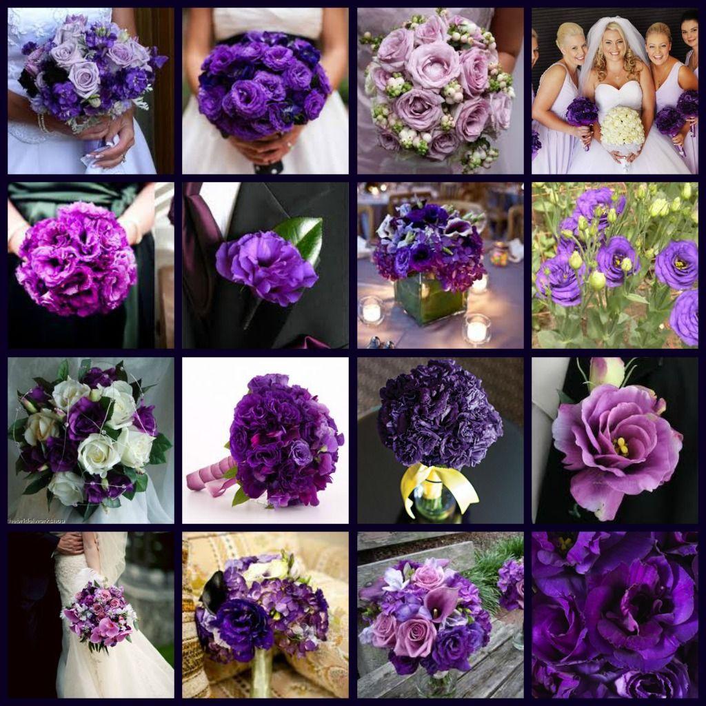 Names Of Purple Flowers For Wedding: Dahlia Flower Arrangements