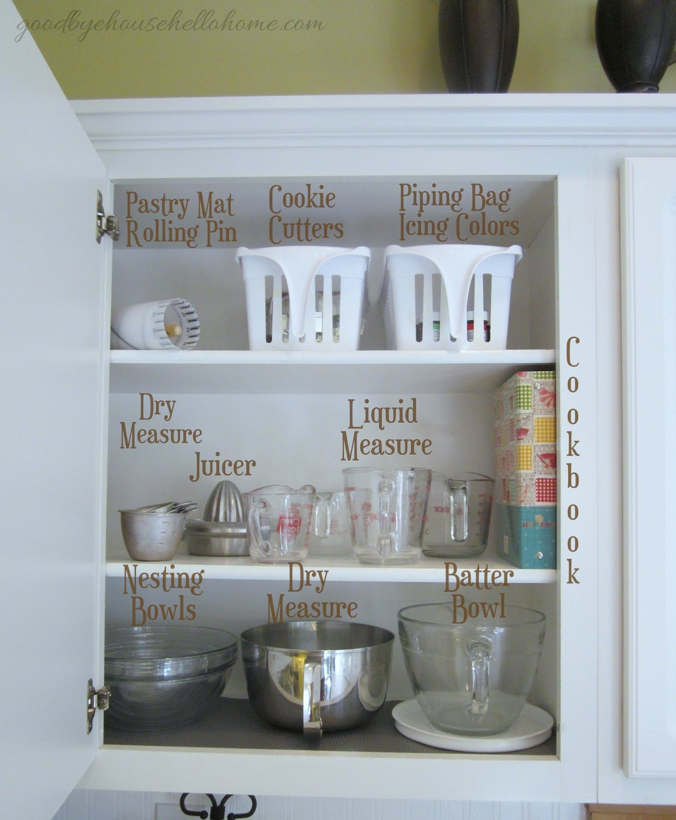 Organized space of the week... Kitchen \