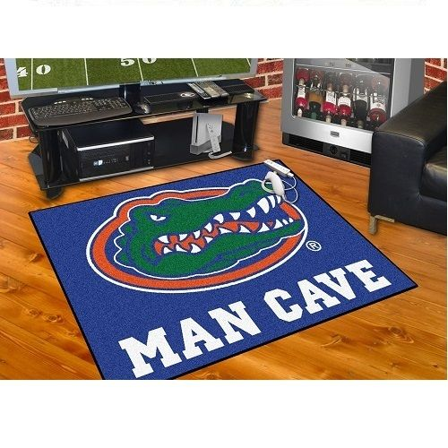 Florida Gators Man Cave 34 X 43 All Star Area Rug Floor Mat