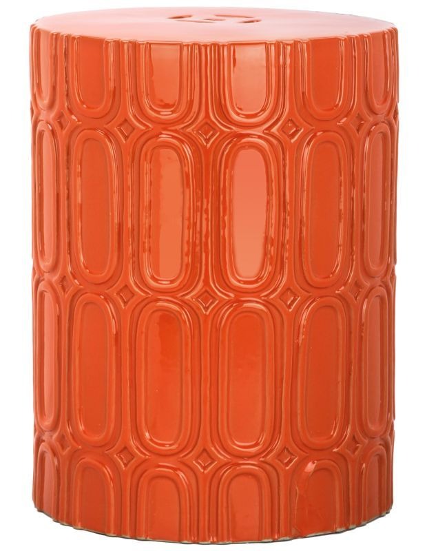 Sensational Safavieh Acs4529 Melody 16 Tall Glazed Ceramic Round Garden Uwap Interior Chair Design Uwaporg