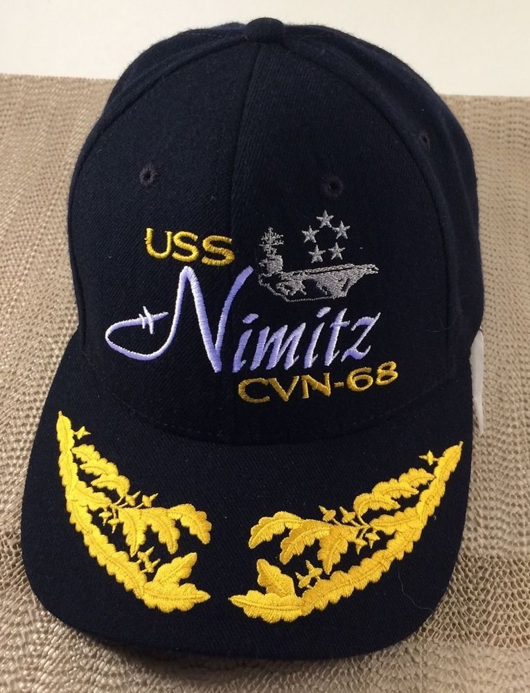 pretty nice 0ae89 aaa43 USS Nimitz Navy CVN-68 Aircraft Carrier Baseball Cap Hat The Corps US  Adjustable  TheCorps  BaseballCap
