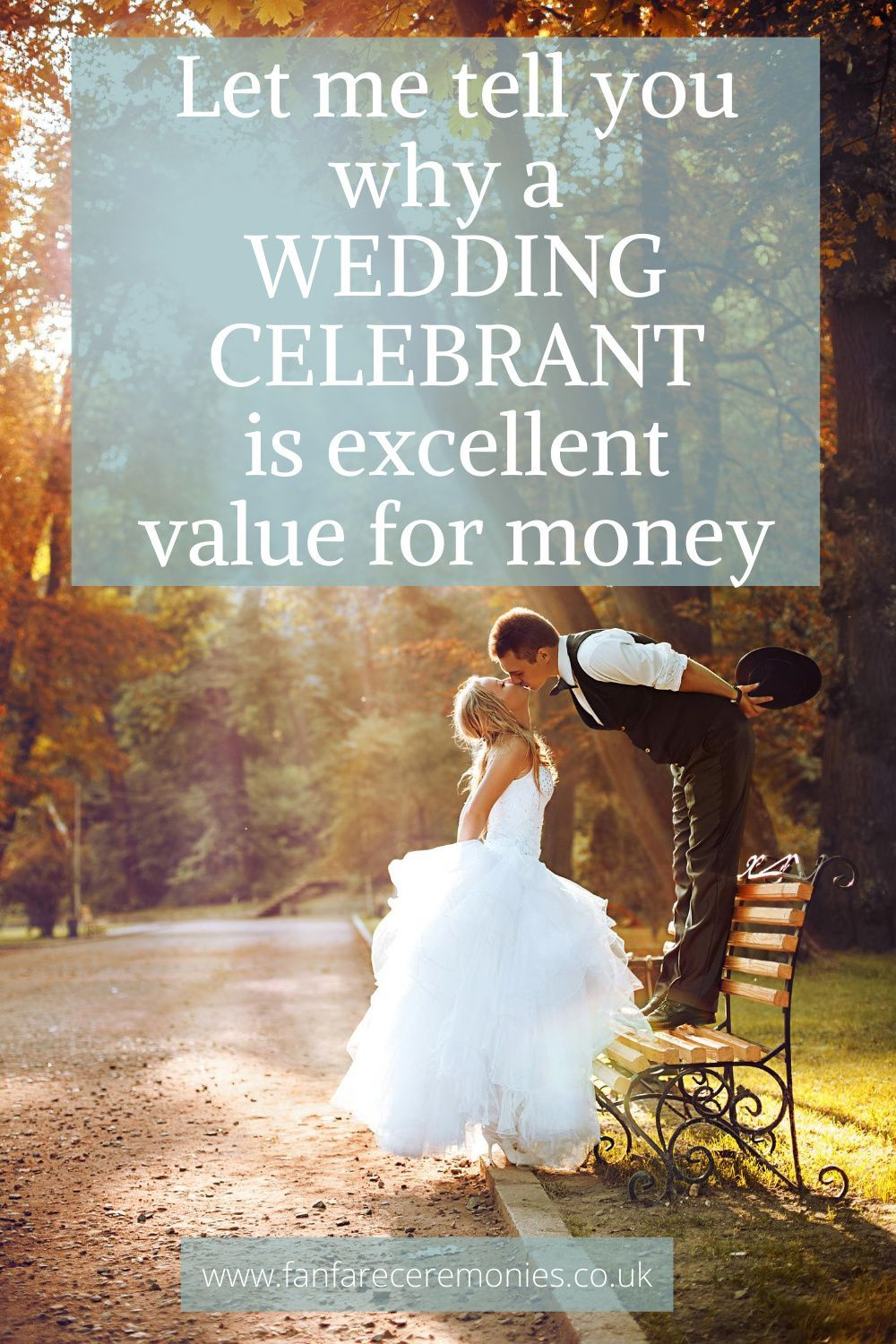 Let me tell you why a WEDDING CELEBRANT is such excellent