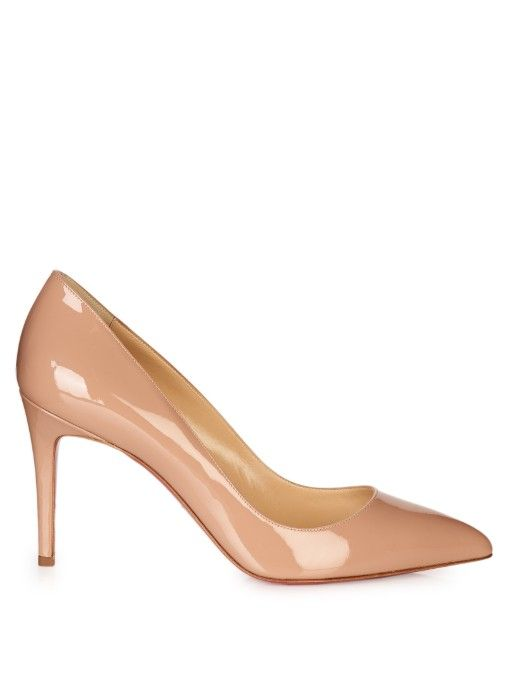 aca6411a94b CHRISTIAN LOUBOUTIN Pigalle Follies 85Mm Patent-Leather Pumps.   christianlouboutin  shoes  pumps