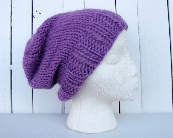 529a9fa0076 Alpaca   Merino Wool Knit Hat for Women