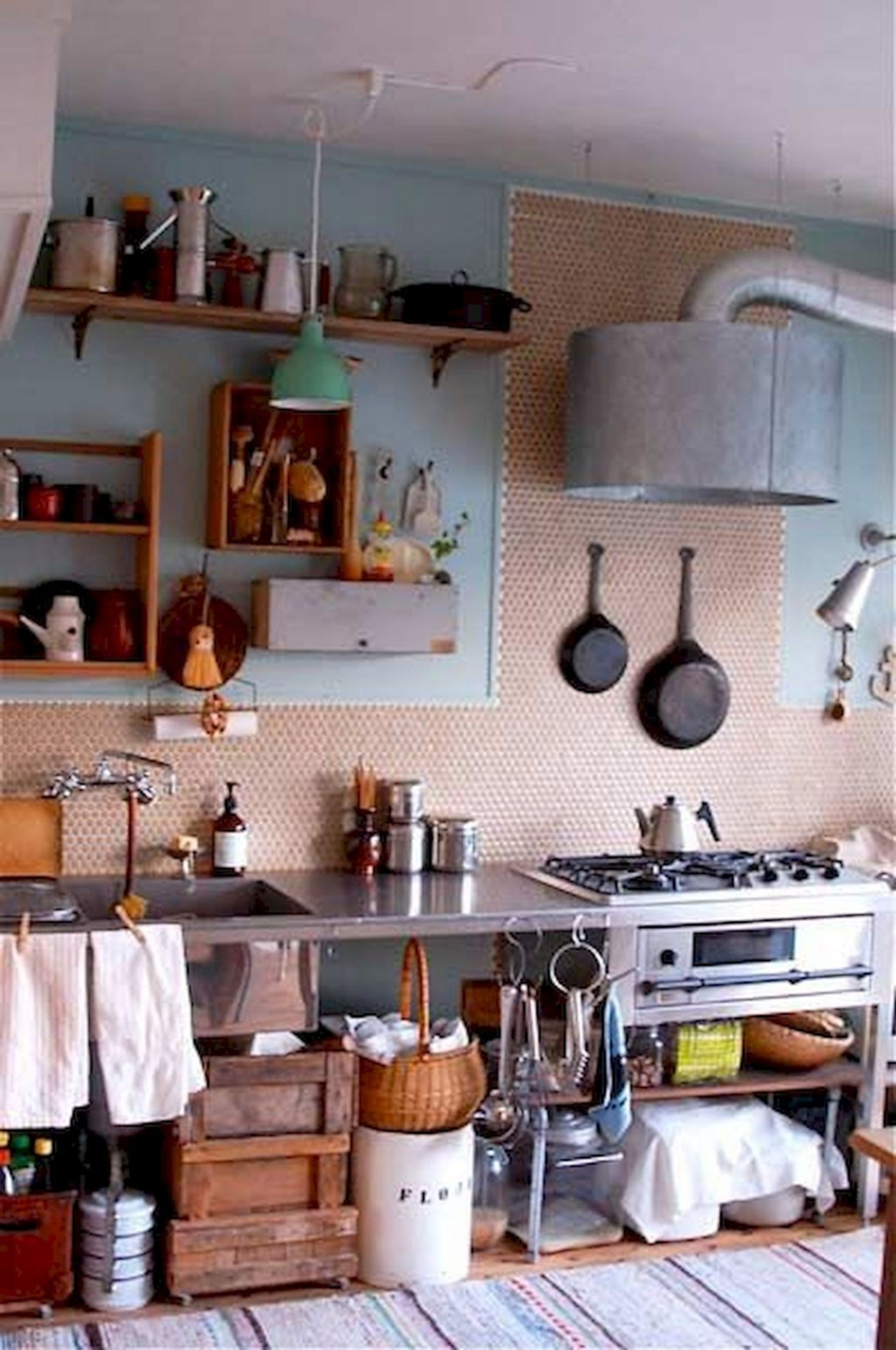 Japanese houses can be small, as well as kitchens in Japanese ...