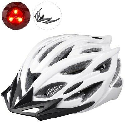 Ad Ebay In Mold Bike Helmet Cpsc W Led 25 Vents Removable Visor