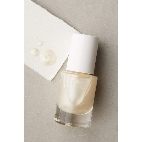 RMS Beauty Nail Polish ($15) via Polyvore featuring beauty products, nail care, nail polish, luminizer and rms beauty