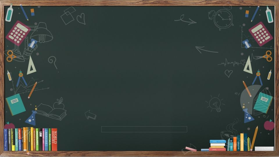 Fresh Chalkboard Stationery Ad Background
