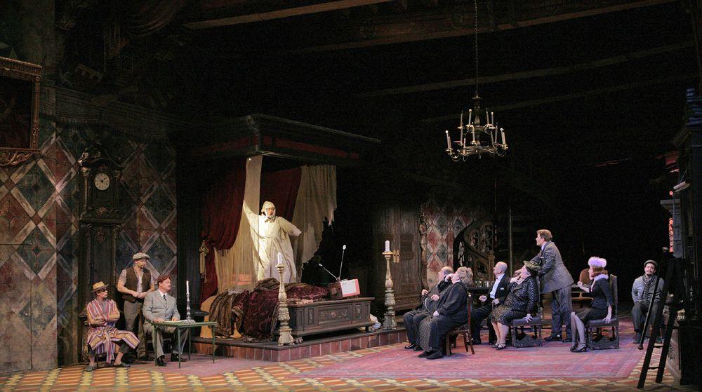 "Stage scene from Giacomo Puccini's ""Il Trittico"" Photo: Ken Howard/Metropolitan Opera"